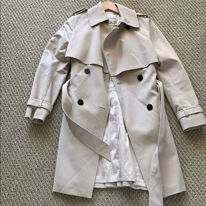 nwot trench size xs